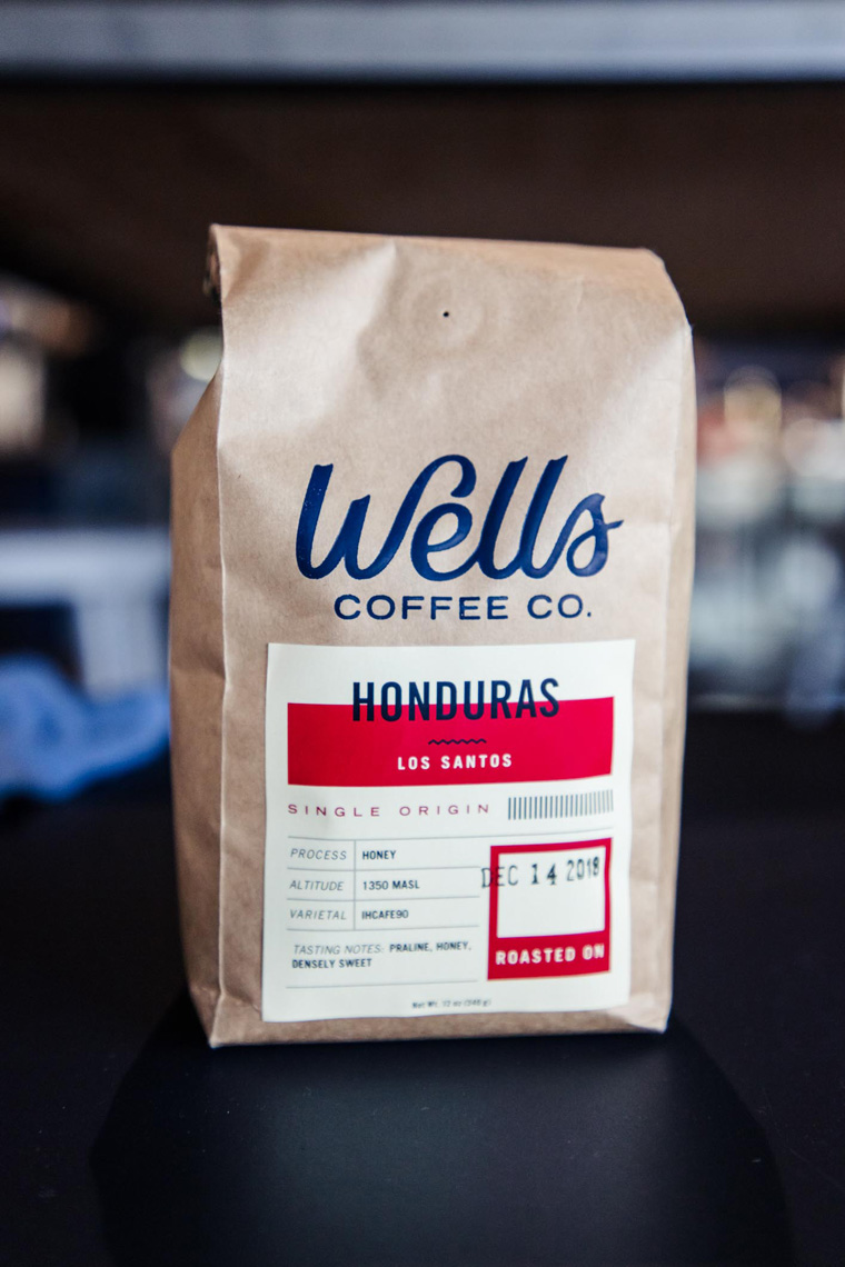 Wells Coffee Co. beans