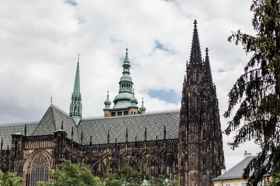St. Vitus Cathedral - Prague two day itinerary