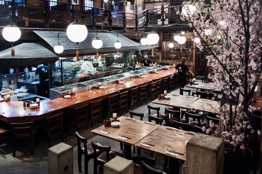 Kill Bill restaurant - Tokyo itinerary 7 days