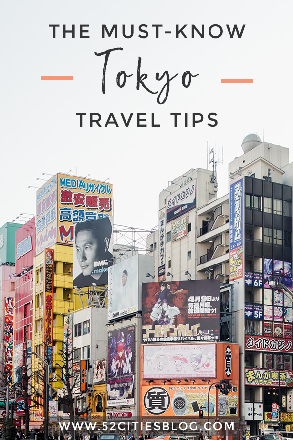The must-know Tokyo travel tips