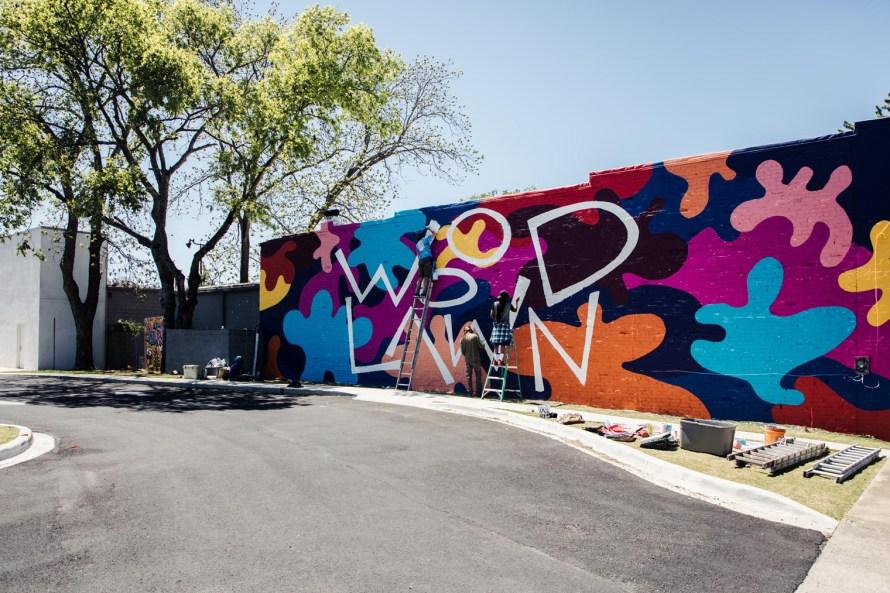 Woodlawn mural