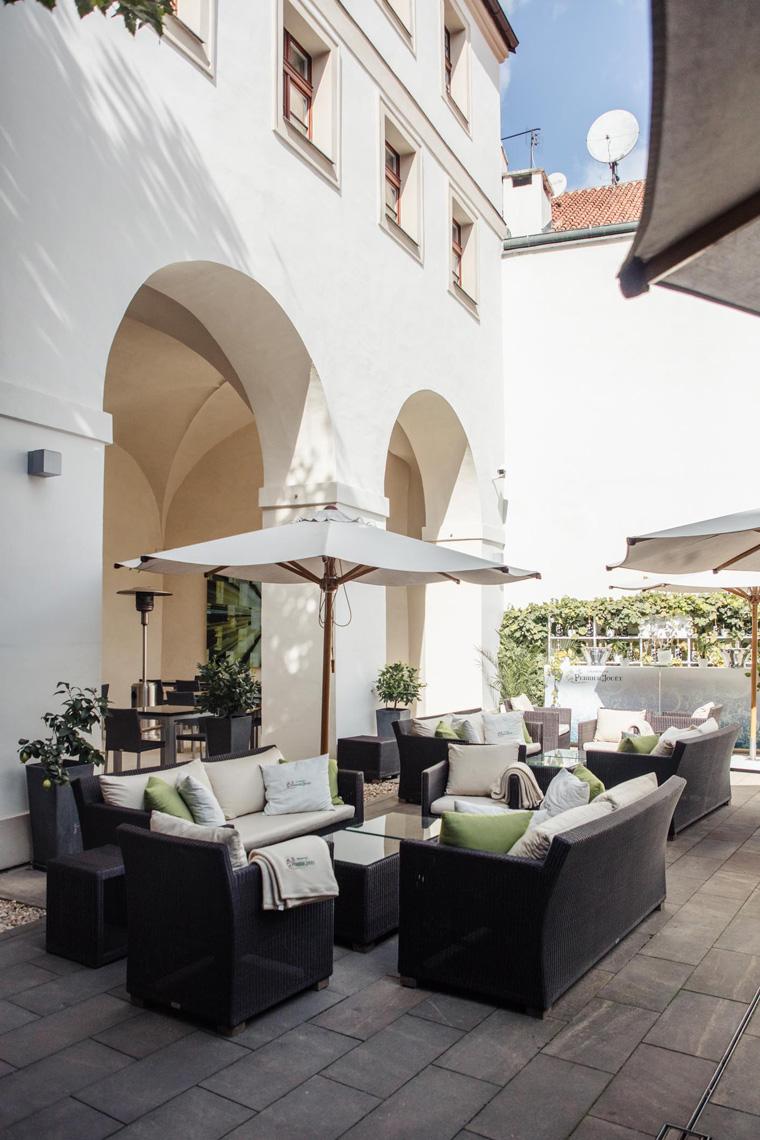 Augustine courtyard