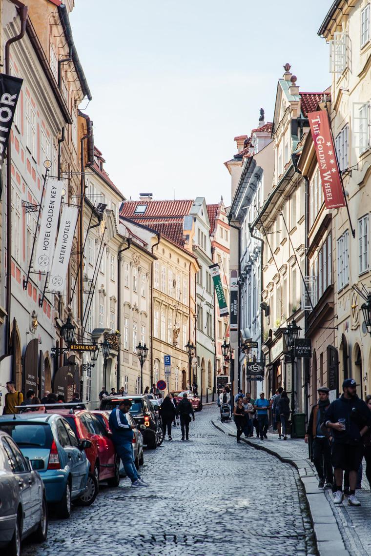 Mala Strana street