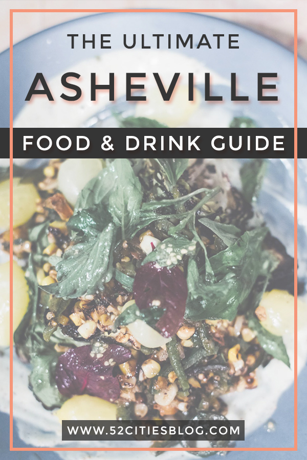 Asheville bars and restaurants