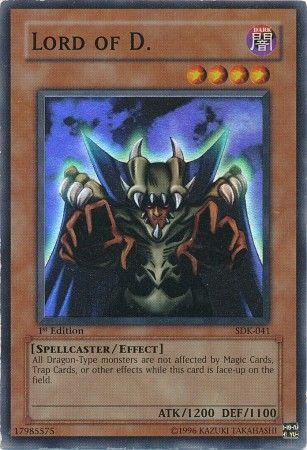 Lord of D. - Yugioh | TrollAndToad