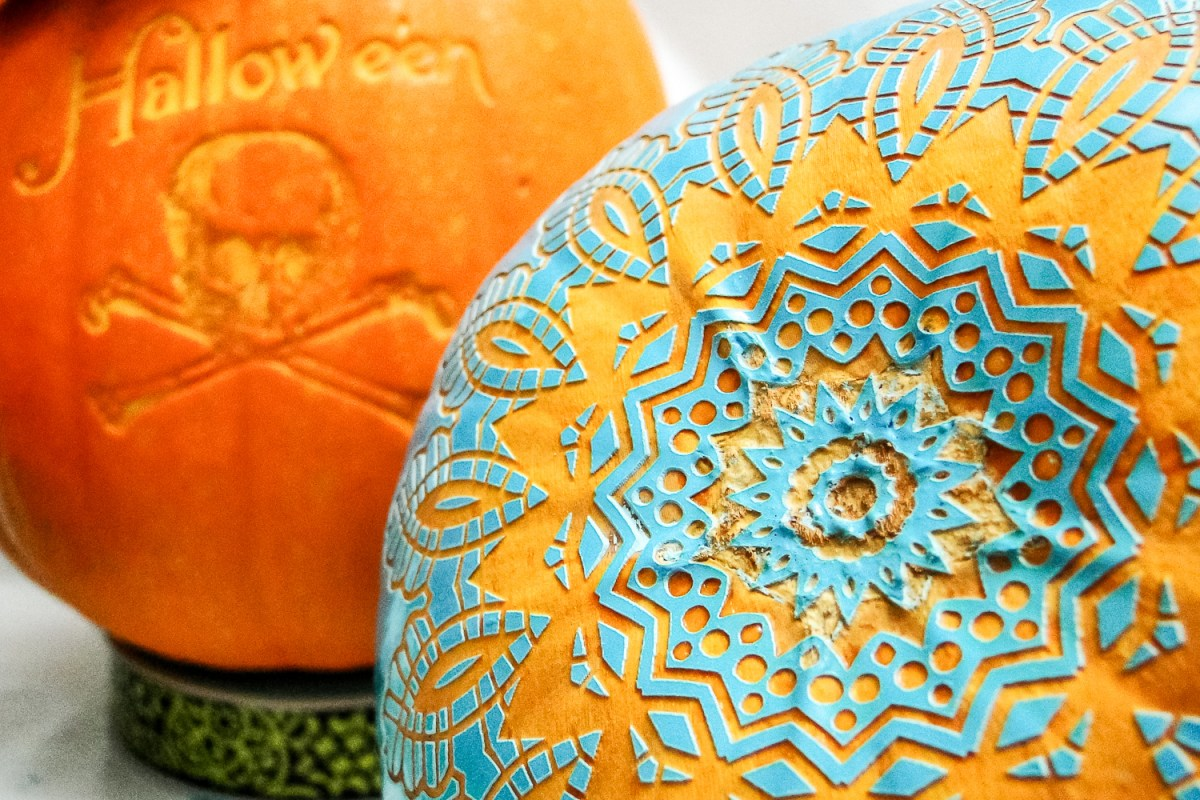 41: Pumpkin Decorating