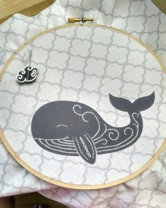 Whale body stitching has been done.