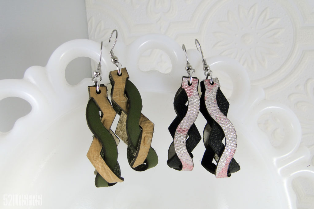 119: Leather Twist Earrings Tutorial