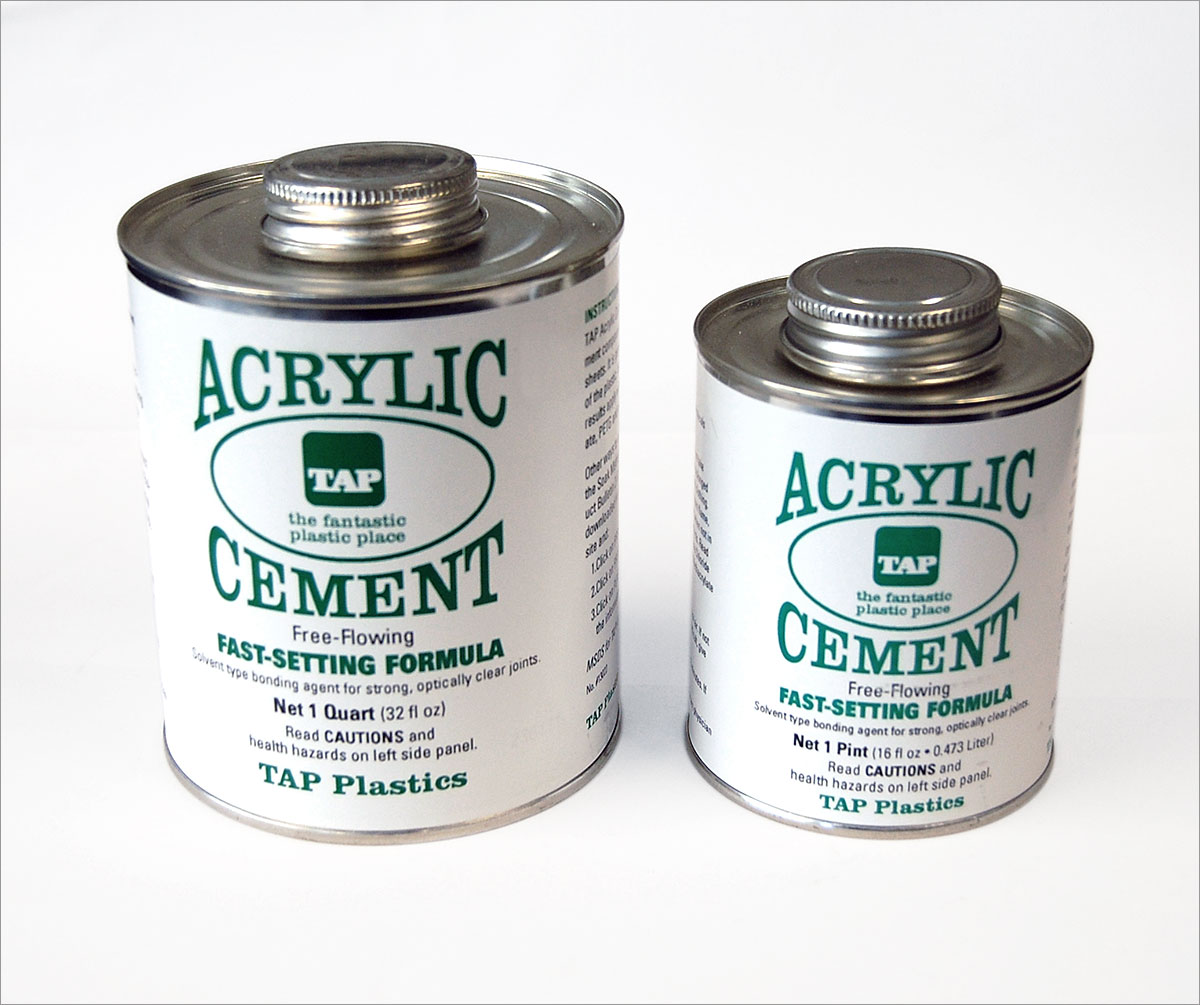 127: Acrylic Cement – 52LASERS