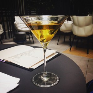 Le Cinq Cadot martini