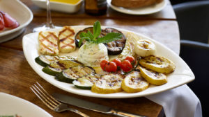 Estiatorio Milos grilled vegetables