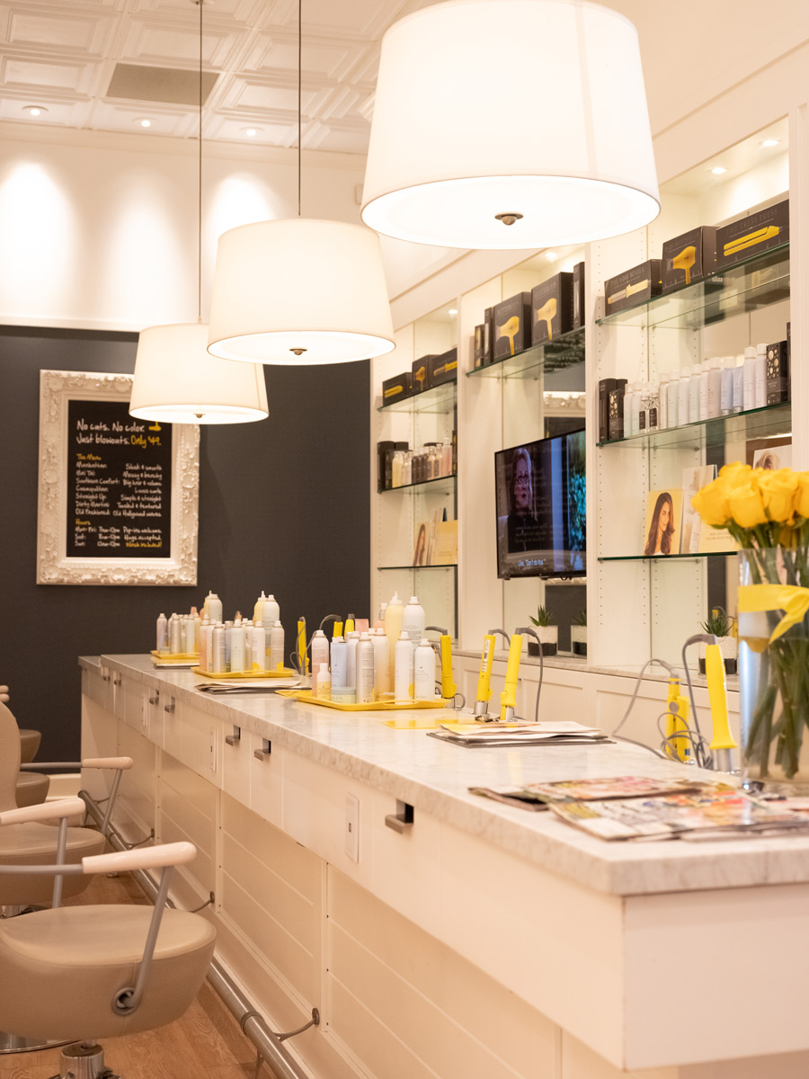 A look at the accessories used at Drybar.