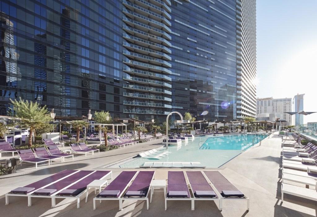 Work remotely poolside in Las Vegas