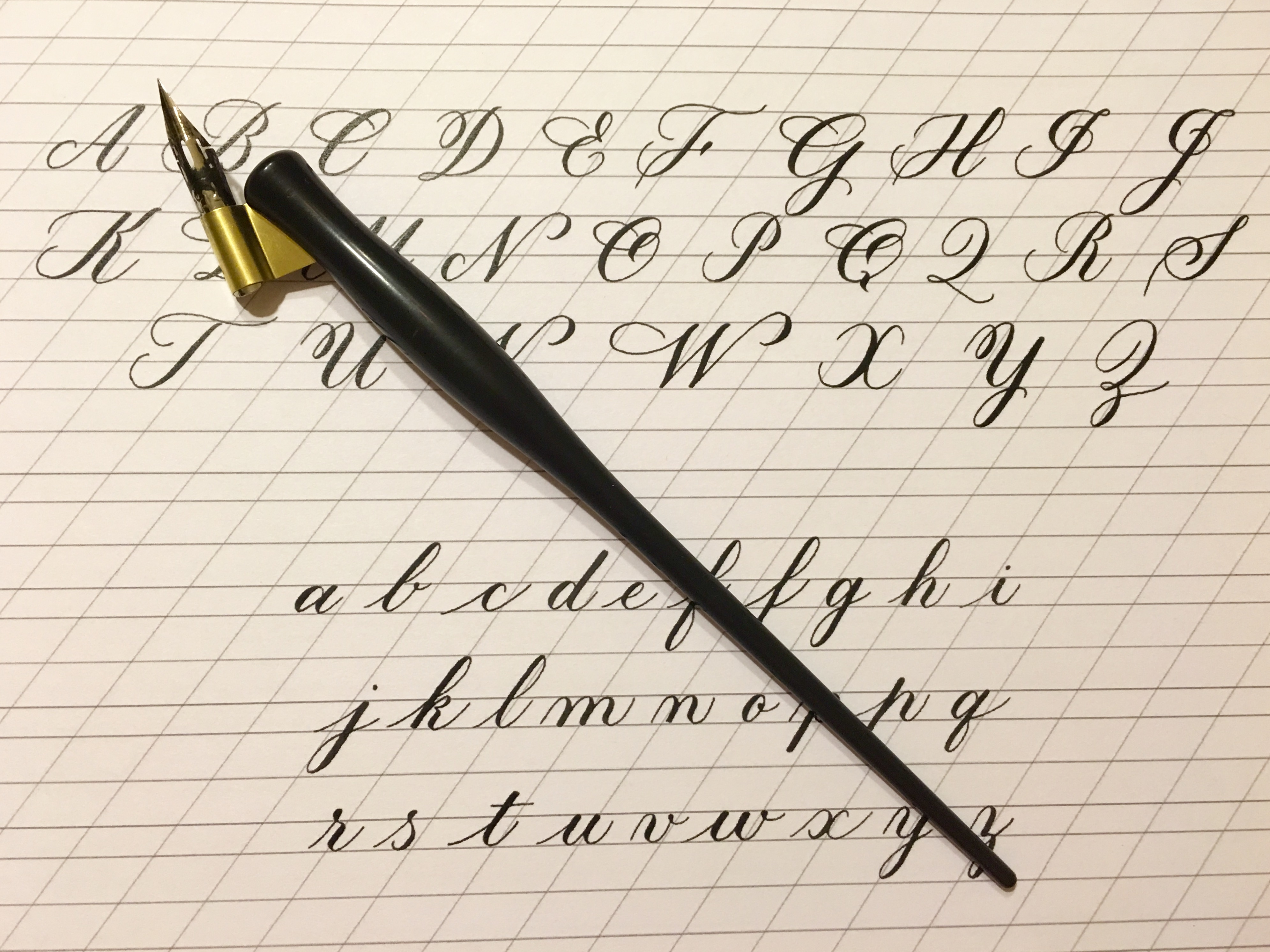 Learning Calligraphy 52 Things 52 Weeks