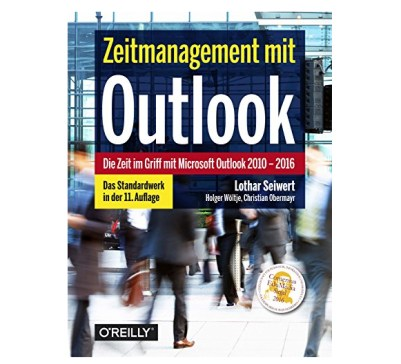 Zeitmanagement mit Outlook Buchcover