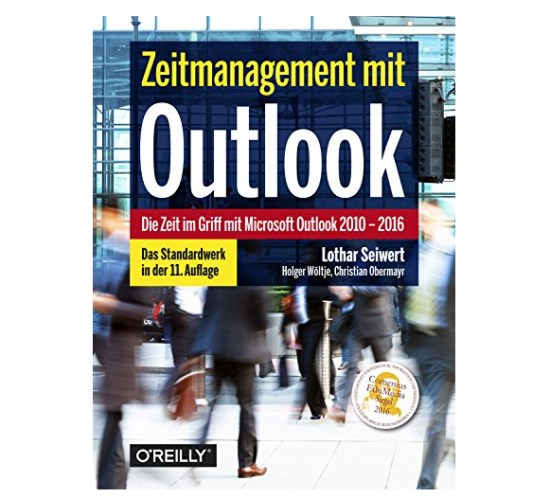 Zeitmanagement mit Outlook Buchcover