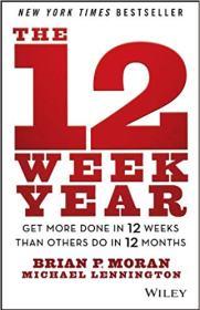 Buchcover 12 Week Year