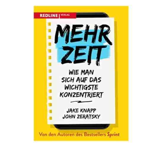 Buchcover - Mehr Zeit