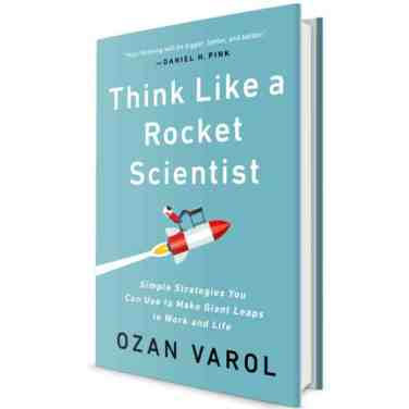 Buchcover Think like a Rocket Scientist