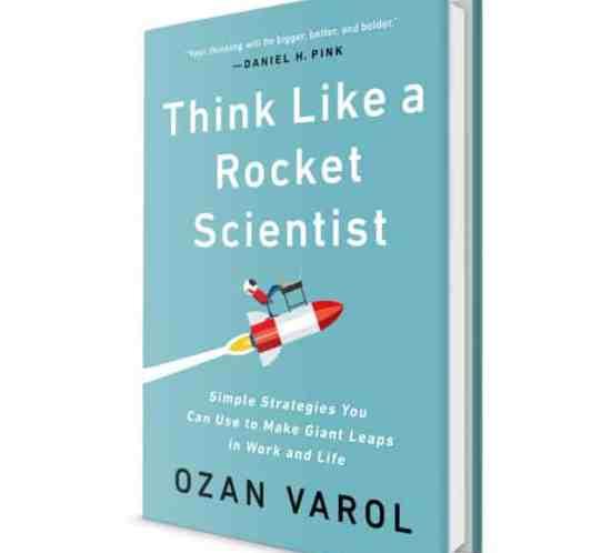 Buchcover Think like a Rocket Scientist