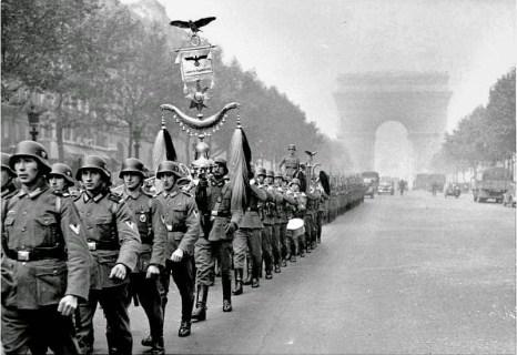 Nazi in paris