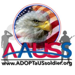 Adopt a us soldier logo