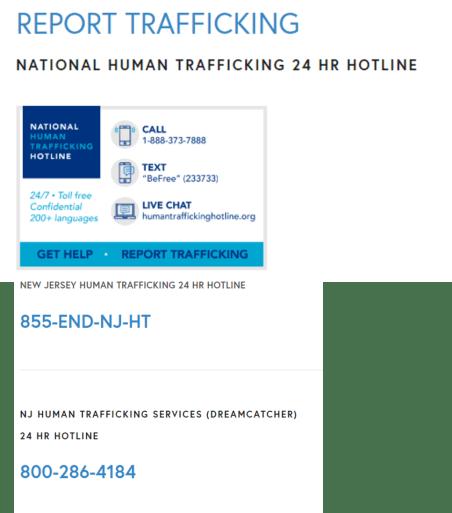 hotlines