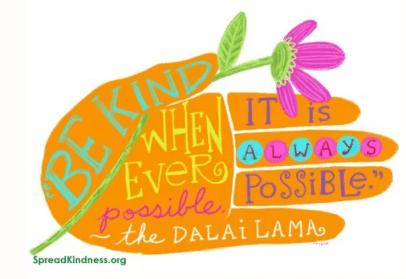 kindness hands