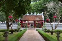 Temple of litterature gardens