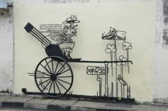 Street art in Georgetown
