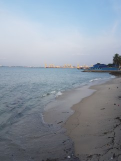 Beach on the west coast of Penang