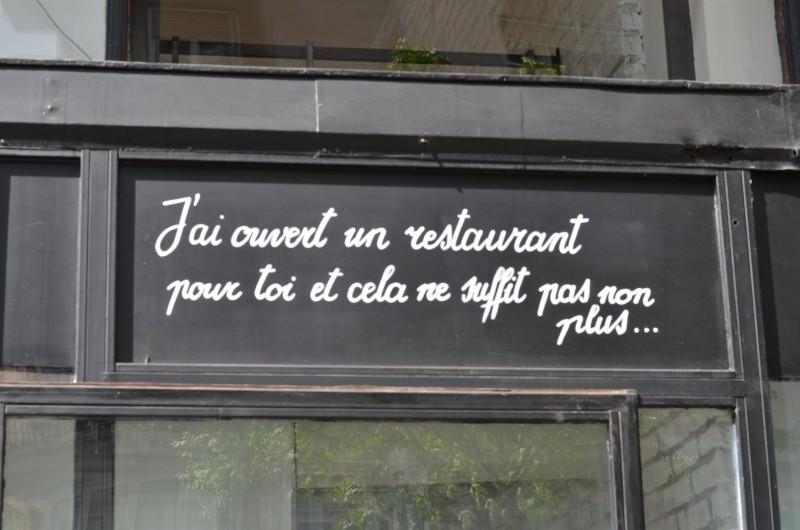 Restaurant, Budapest, Kiraky Utcà, Français