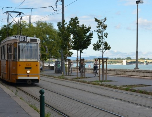 Budapest, Hongrie,Voyage,Tramway, vélo, danube