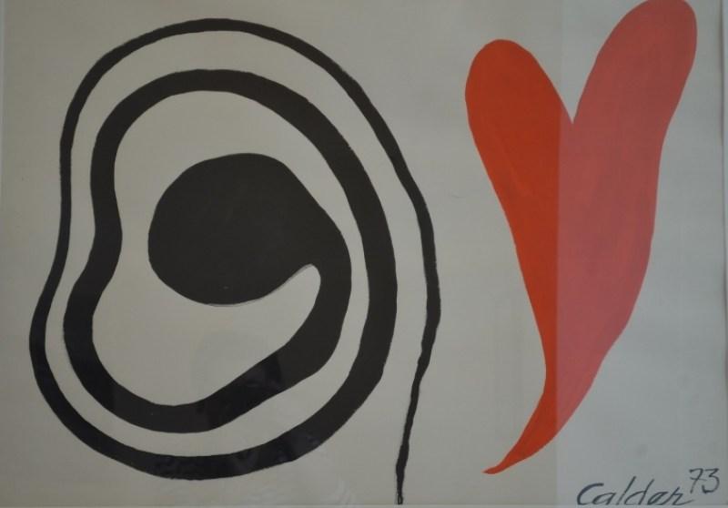 Un Calder en rouge et noir