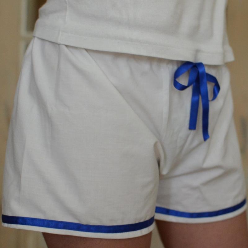 Short de pyjama des Intemporels pour demoiselles par 53 sous les toits
