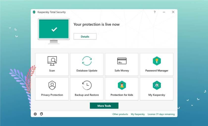 Kaspersky User Interface