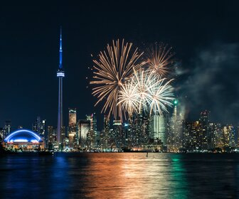 Canada Day Fire Works