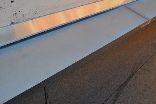 Sheet Metal Counter and Cap Flashing