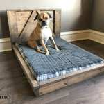 16 Pallet Dog Bed Diy Plans Cut The Wood