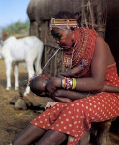 Is spitting a good or bad gesture? Check out the Massai tribe.