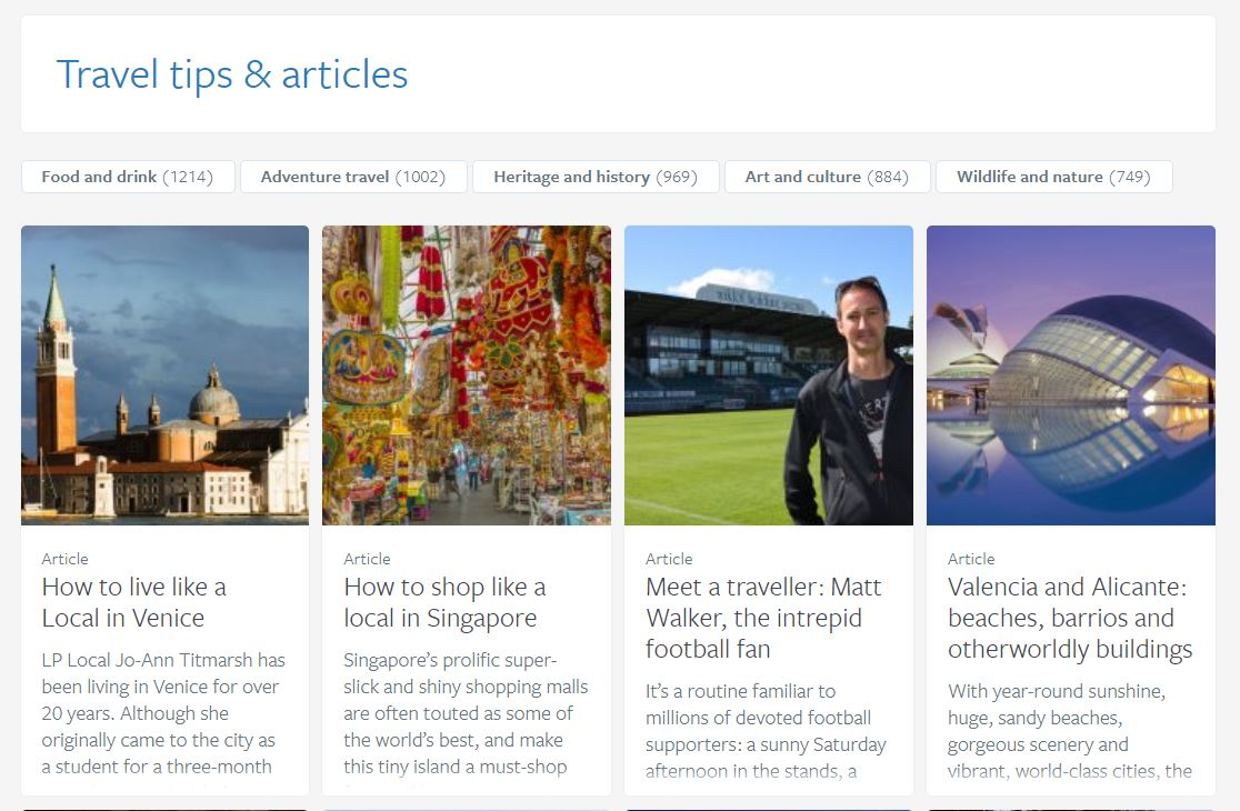 Lonely Planet publish 55FN interview