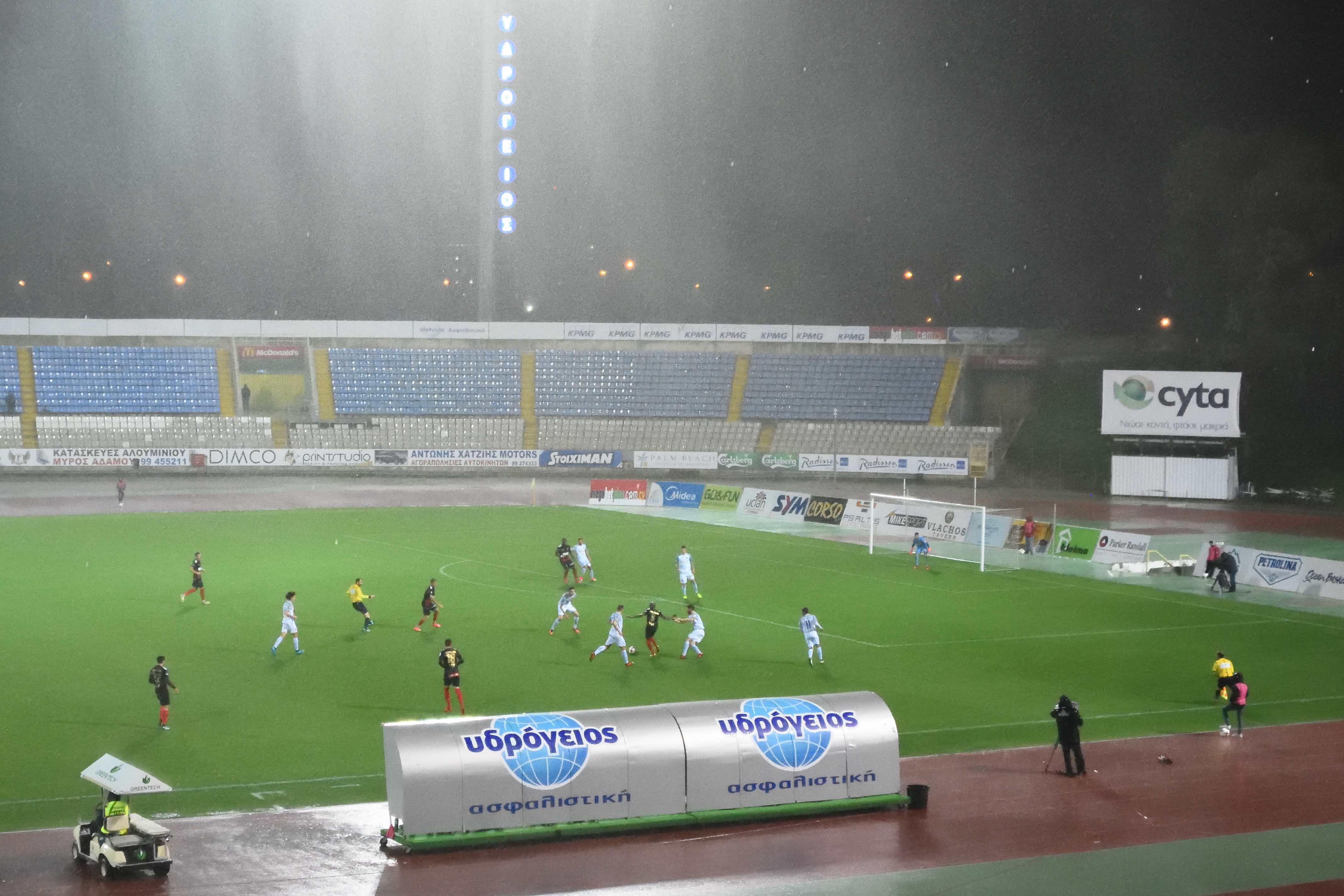 Football Nation 36/55 - Cyprus - Ermis Aradippou 4-0 Olympiakos Nicosia