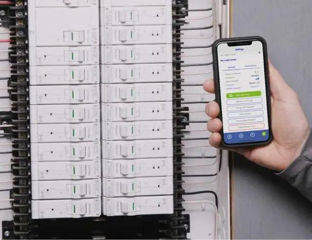 Leviton Load Center Smart Circuit Breaker