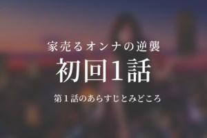 家売るオンナの逆襲|1話ドラマ動画無料視聴はこちら【1/9放送】