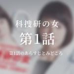 科捜研の女 1話ドラマ動画無料視聴はこちら【4月18日放送】