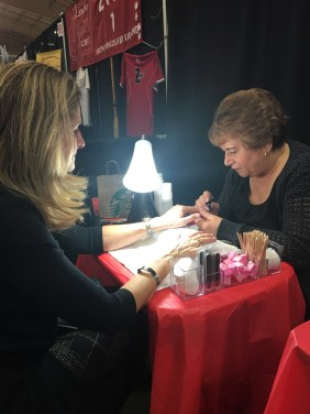 Great time for a manicure by Shimmer Body & Nail