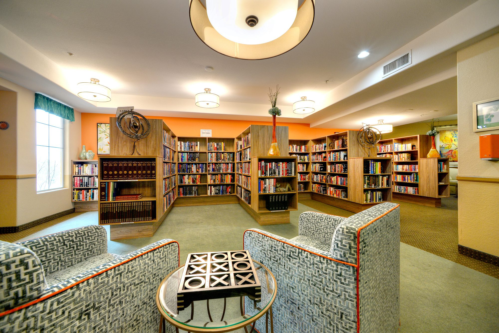 Independent Amp Assisted Living Community New Library