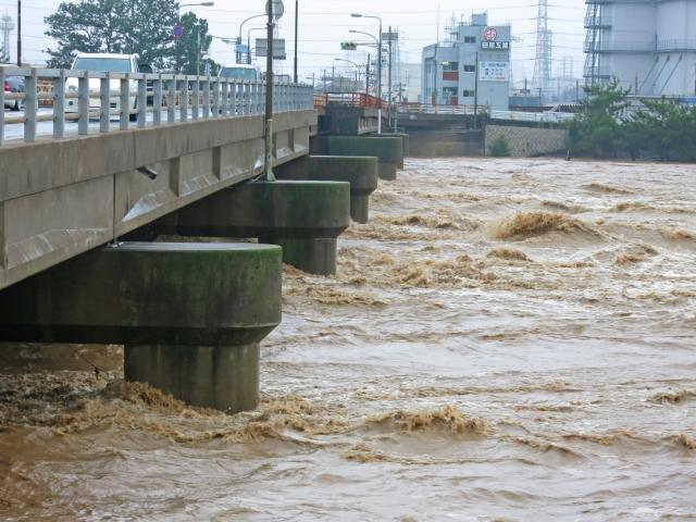 台風20号 ひっくり返すような豪雨