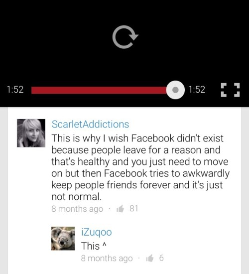 YouTube comment I saw. Speechless. Makes so much sense.