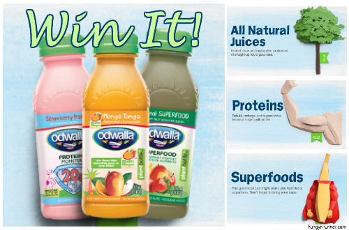odwalla prize pack giveaway